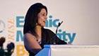 Kavita at the Ethnic Minority Business Awards